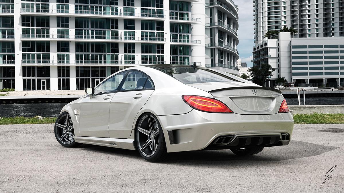 Mercedes-CLS-AMG-mit-KV1-Felgen-VA-9x20-Konkave-HA-105x20-DC-extrem-Konkave-Anthrazit-poliert-2